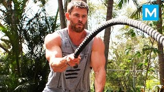 Insane THOR's Workout - Chris Hemsworth | Muscle Madness