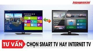 Smart TV và Internet TV: Nên chọn cái nào? - Nguyễn Kim
