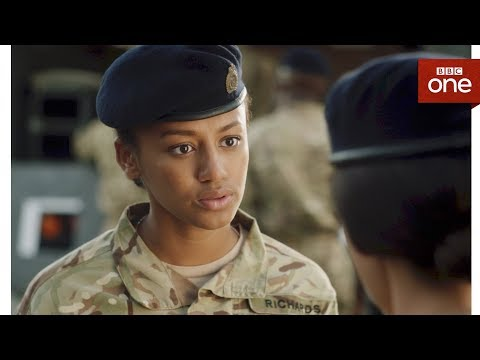 Maisie is reprimanded by Georgie - Our Girl: Series 3 Episode 1 - BBC One