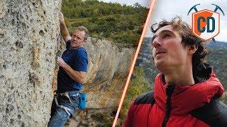 Adam Ondra Teaches Matt To Sport Climb | Climbing Daily Ep.1150