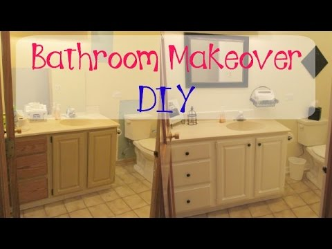Garbage to gorgeous episode 8 bathroom makeover on a for Diy bathroom ideas on a budget