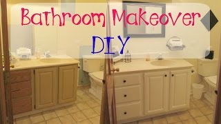 Garbage To Gorgeous Episode #8:  Bathroom Makeover On A Budget Diy Craft Klatch