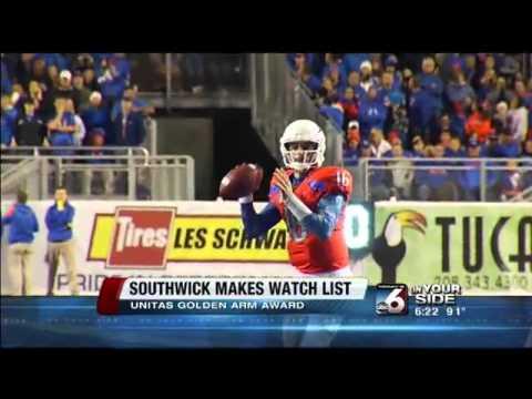 Southwick makes Unitas Golden Arm watch list