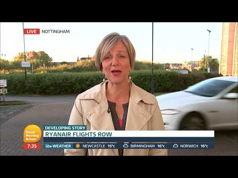 Chair of the Transport Select Committee Comments on Ryanair Flight Row | Good Morning Britain
