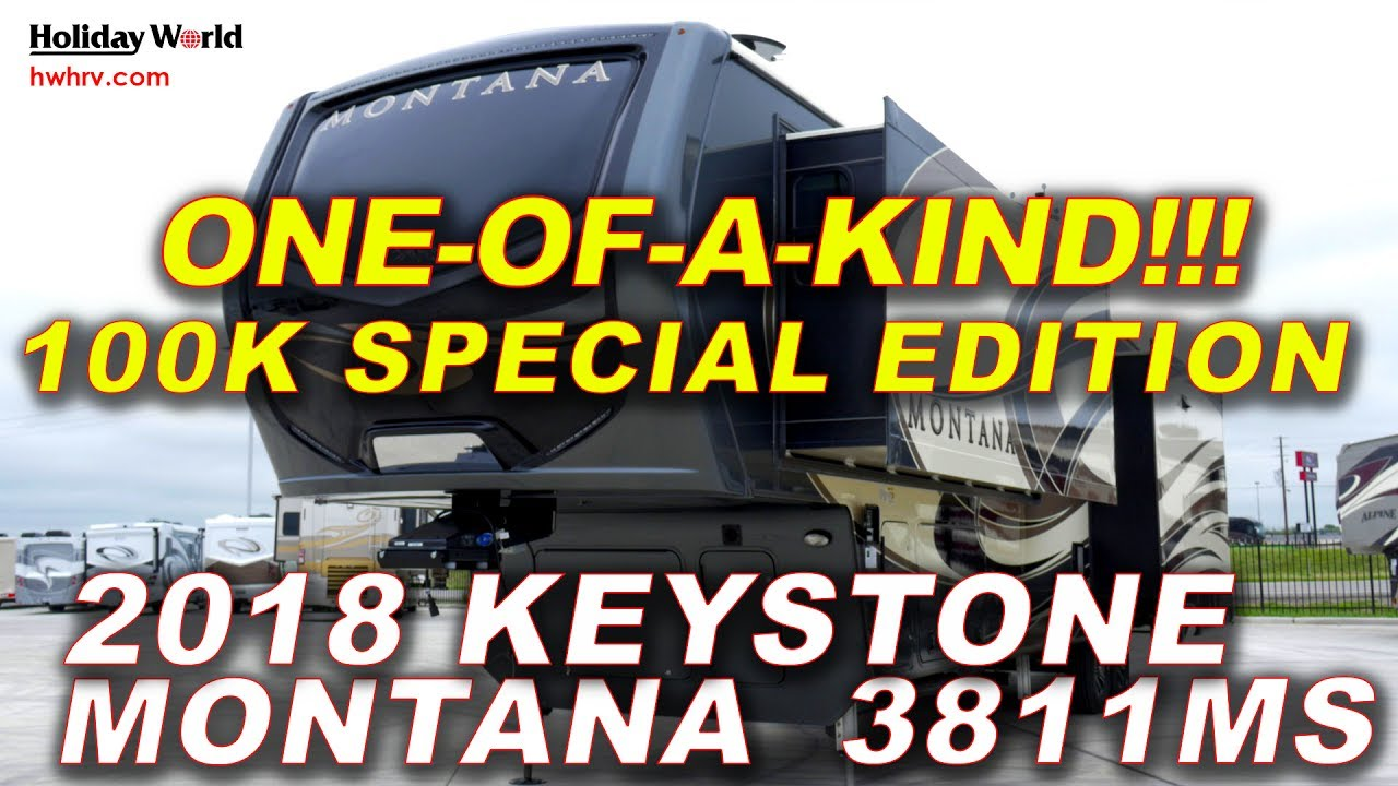 Lastest One-of-a-kind!!!! 100K Special Edition Keystone Montana 3811 - Holiday World RV (855-462-9138 ...