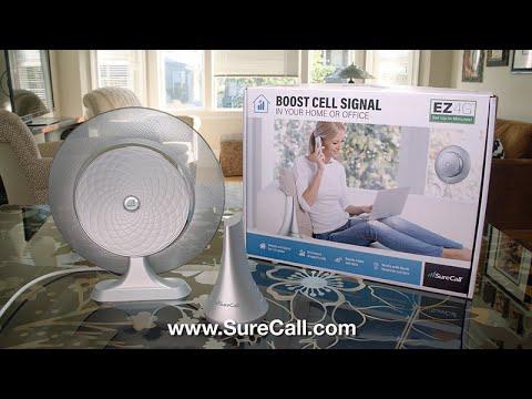 SureCall EZ 4G Cell Phone Signal Booster