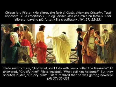 Passione di Gesù secondo Matteo