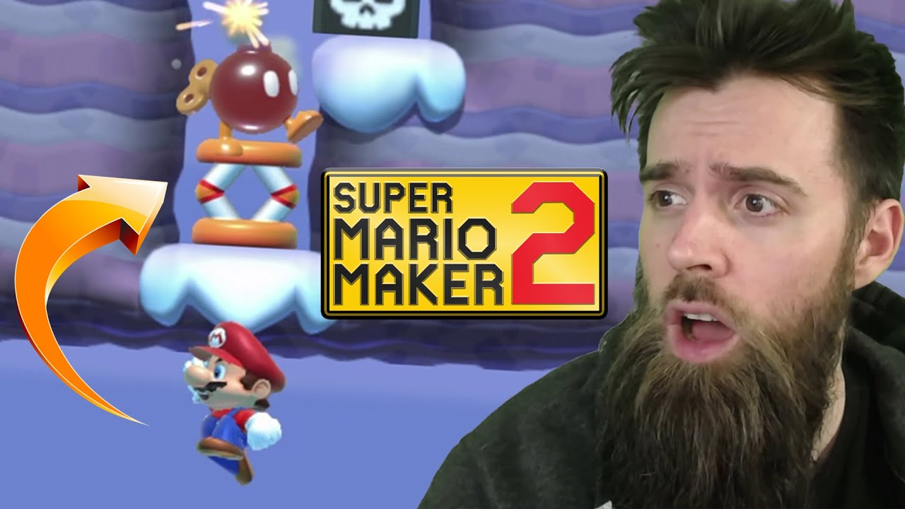 I Stumbled Upon a Level That Makes No Sense... DEDICATED TO ME! [SUPER MARIO MAKER 2]