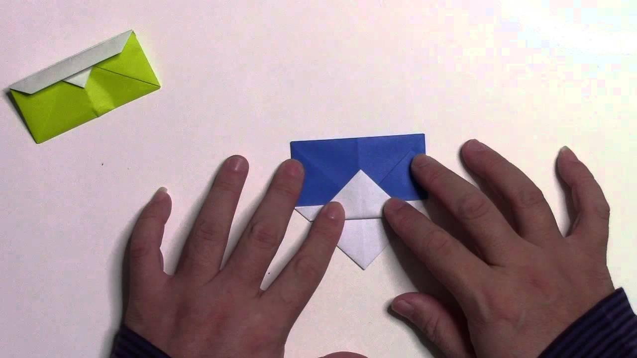 すべての折り紙 折り紙菊の折り方 : 折り紙 折り方】簡単な財布 ...