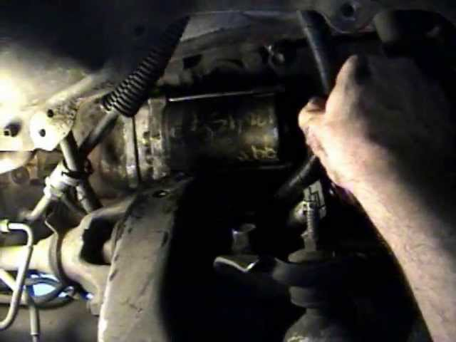 Toyota 4 Runner Starter Motor How To Replace Install 4runner 1993 93 2nd Gen Youtube