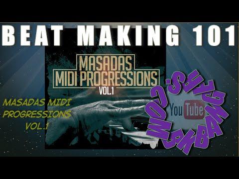 MPC KIT REVIEW Massadas Midi Progressions Vol  1