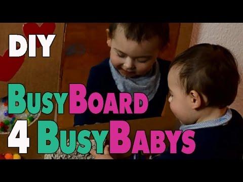 Diy Activity Board For Babys Sensory Board Mamiblock Der Mami