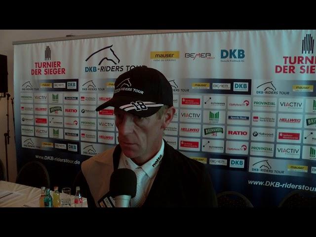 Marcus Ehning - Zweiter DKB Riders Tour und WM Kandidat