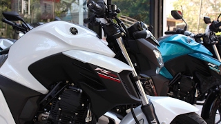 2017 Yamaha FZ 25 India Firstlook, Walkaround & Exhaust Note
