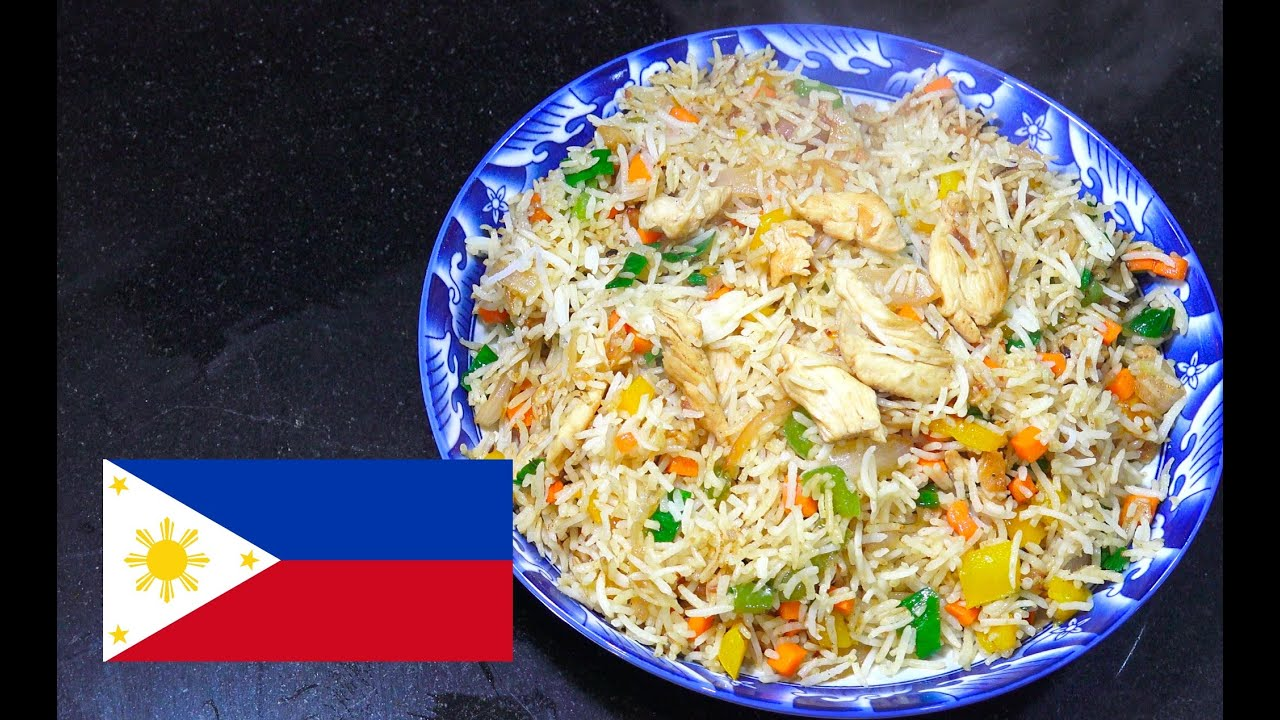 Chicken Fried Rice Pinoy Style - Filipino Recipes - Tagalog Cooking