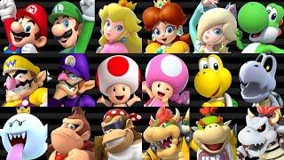 Mario Kart Wii HD - All Characters