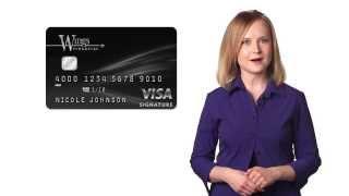Wings Visa Signature Credit Card