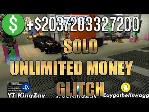 🔴*NEW* SOLO UNLIMITED MONEY GLITCH CAR DUPLICATION GLITCH AFTER PATCH *1.47* (PS4/XBOX1/PC)