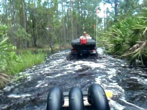 River Ranch Florida >> River Ranch Fl Flooded Four Wheeling Youtube
