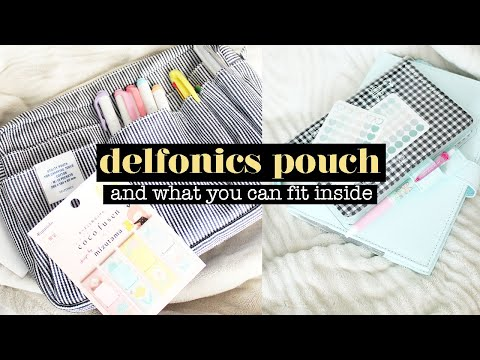 My First Delfonics Pouch! Amazon Japan Haul