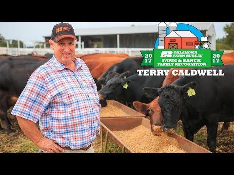 Terry Caldwell - OKFB's 2017 District 5 Farm & Ranch Family Recognition Recipient