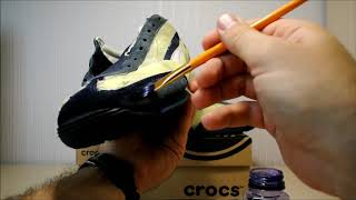 How and what to color sneakers