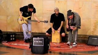 Музыканты в московском метро
