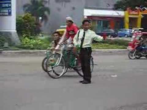 Dancing Traffic Enforcer San Carlos City