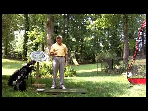 Left Arm Blocking Vision at Top of Backswing