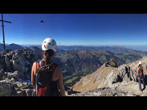 Klettersteig Rigidalstock : Klettersteig rigidalstock youtube