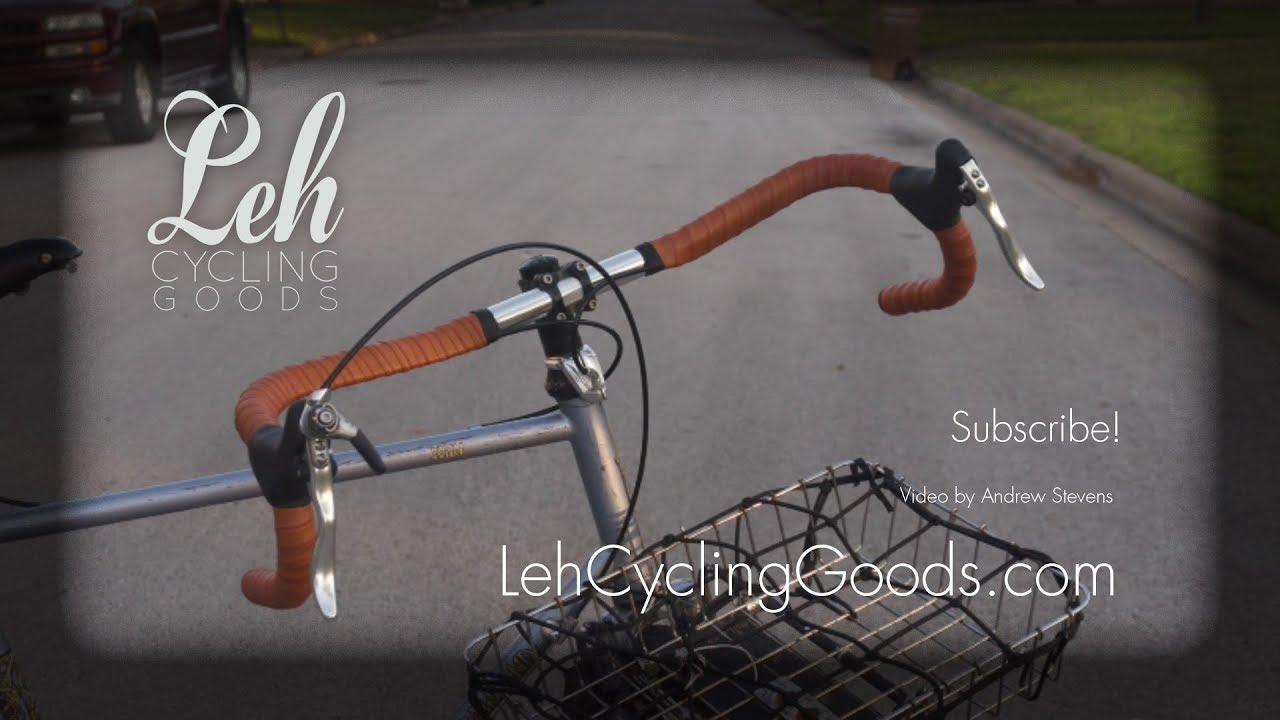 cc5c77e8e9 How to Wrap Leather Bar Tape - Leh Cycling Goods - YouTube