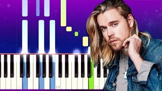 Chord Overstreet - Hold On (Piano Tutorial)