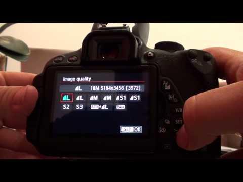 Dicas para utilização da Canon T5i