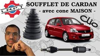 Changement d'un soufflet de cardan sur Clio 2