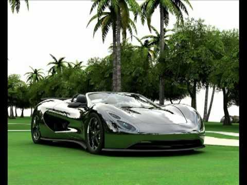 2009 The Scorpion Hx (World first 650 Horsepower Hydrogen powered sportscar)