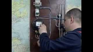 Устройство этажного электрощитка. http://elektrobiz.ru/