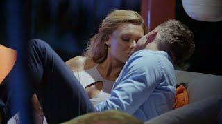 Kysser på första dejten - Niclas Lij och Johanna Scortea i Bachlor