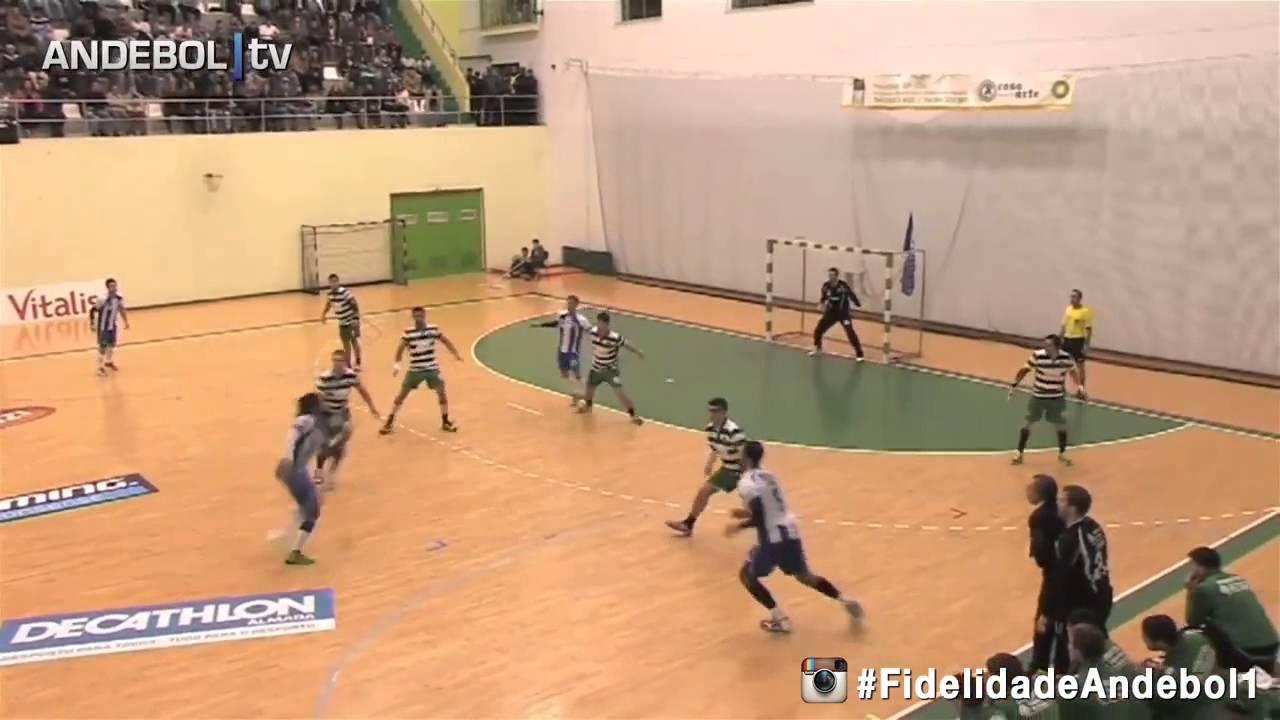 Andebol :: 10J :: Sporting - 23 x Porto - 24 de 2014/2015