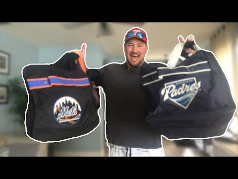 What's In My Baseball Bag(s)?  2018 😳😱😂⚾️  [Former Pro Player Shows Inside His Baseball Bags!]