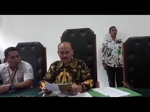 Pernyataan Ketua PN Depok terkait penundaan eksekusi Pasar Kemiri Muka Depok Kamis 19/4/18