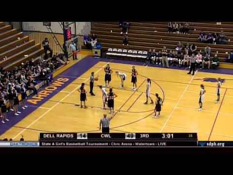 2015 Girls State A Basketball Tournament - Game 10