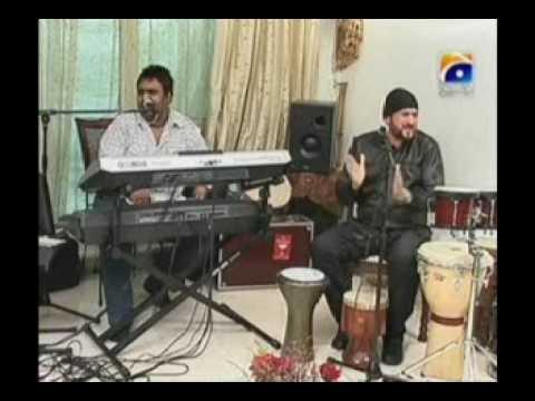 Nadeem Akhtar Saifi of Nadeem Shravan in NADIA KHAN SHOW    Part 5 of 13