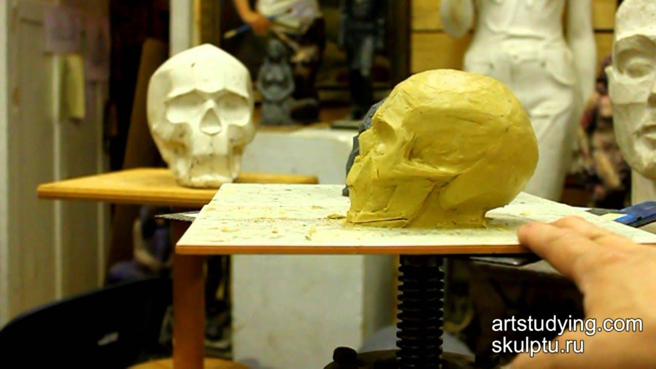 фото скульптура череп