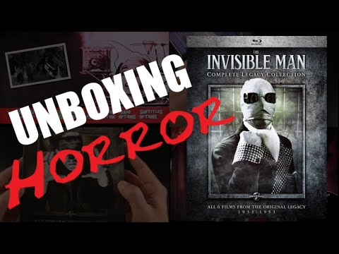 Unboxing Horror: The Invisible Man Complete Legacy Collection