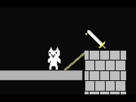 Полное прохождение Cat Mario за 7 минут