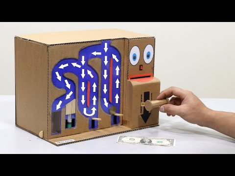 How to Make My Personal 2 in 1 Machine - Saving Coin & Cash