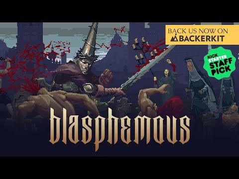 Blasphemous  Kickstarter trailer