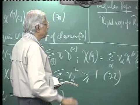 05 - Regular representation, intro. to rotations in 2 & 3 dimensions