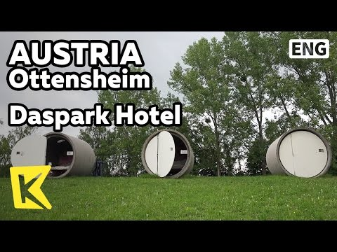 【K】Austria Travel-Ottensheim[오스트리아 여행-오텐스하임]도심속 하수구 호텔/Rodlpark/Dasparkhotel