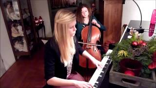 O Come, Emmanuel - cover by Hedwig (cello) and Sanne (piano) - ThePianoGuys